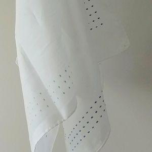 4/$15 - two large vintage handkerchiefs